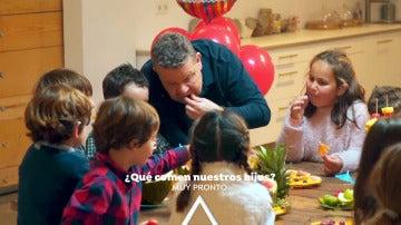 Muy pronto descubrirás con Chicote '¿Qué comen nuestros hijos?'