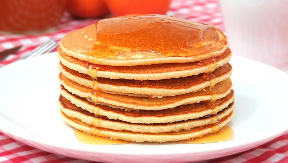 Tortitas Americanas Fáciles y Esponjosas   Hot Cakes   Pancakes