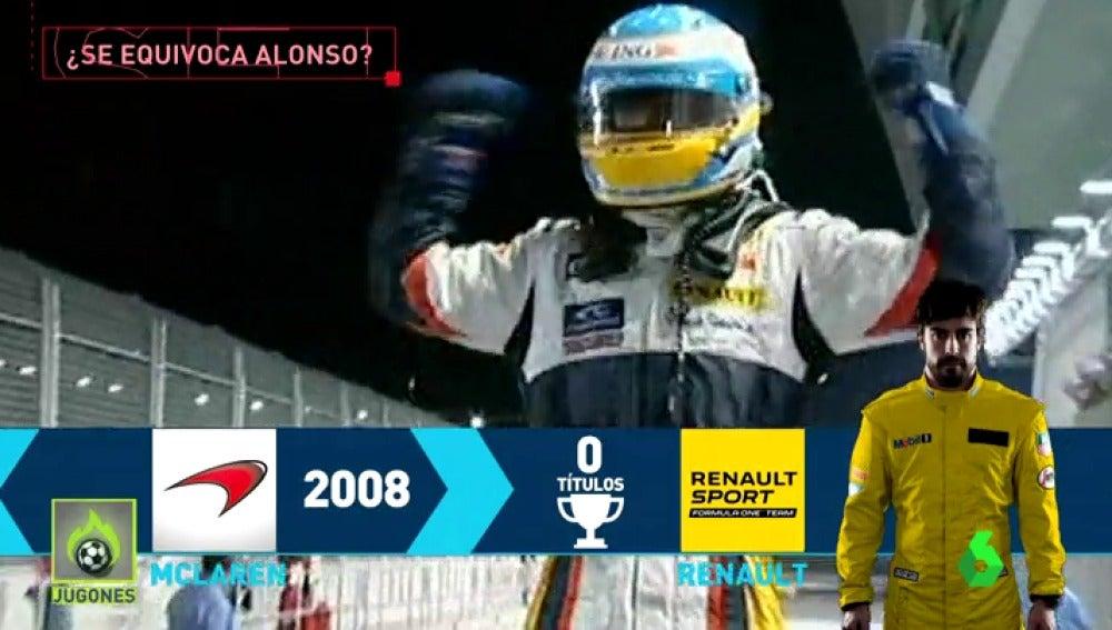 ¿Se equivoca Fernando Alonso si se queda con McLaren?