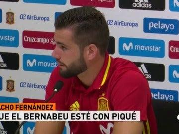 """Nacho, sobre los pitos a Piqué: """"Está ya curado de espanto"""""""