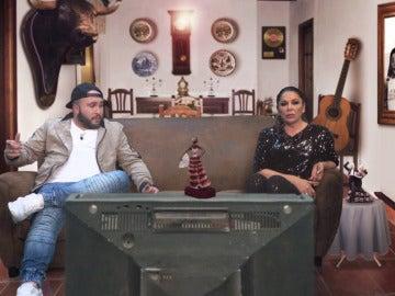 Isabel Pantoja y Kiko Rivera, ansiosos ante la nueva temporada de 'El Hormiguero 3.0'