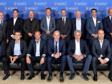 Foro entrenadores UEFA