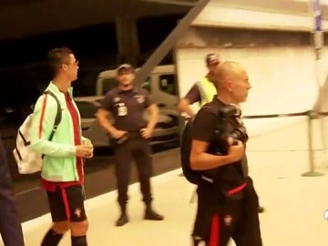 La risa de Cristiano Ronaldo tras ser preguntado por su petición de subida salarial al Real Madrid