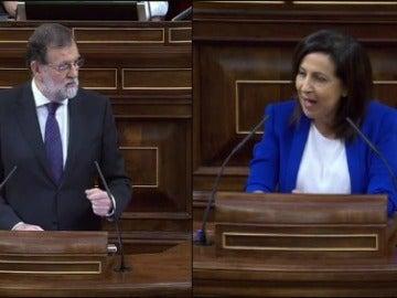 Mariano Rajoy y Margarita Robles