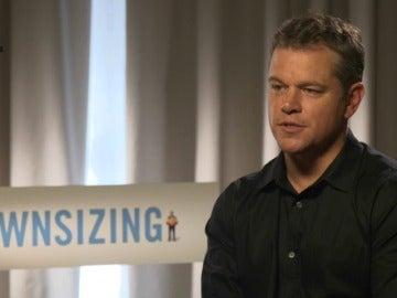 Antena 3 Noticias entrevista al actor Matt Damon