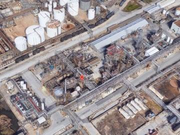 Planta química de Arkema en Houston