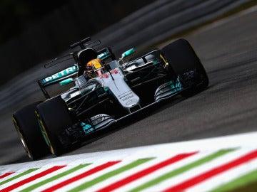 Lewis Hamilton en Monza