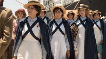 Las Damas Enfermeras llegan a Melilla