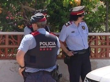 Actuaciones controvertidas de la policía catalana
