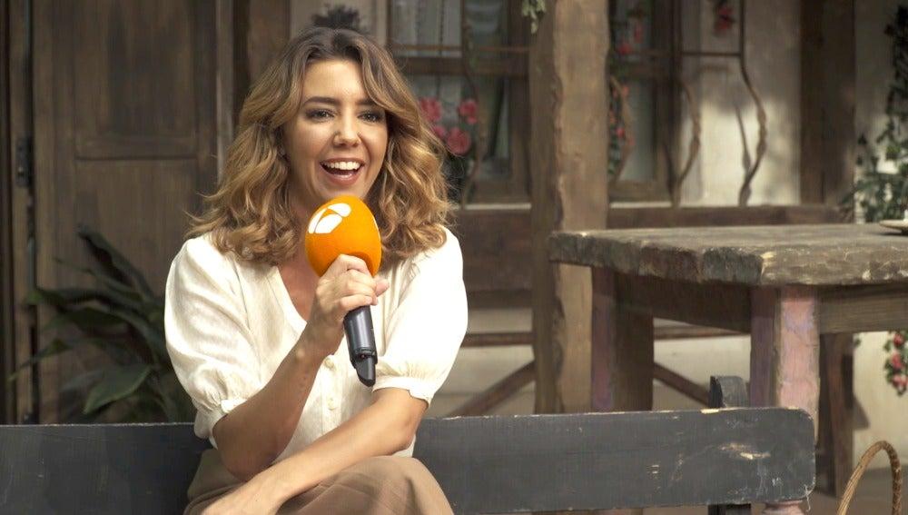 """Sandra Cervera: """"Emilia echará mucho de menos las miradas de complicidad con Camila"""""""