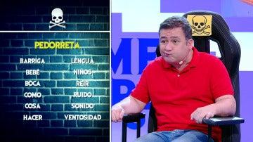 Ana Simon logra sacar de quicio a Secun de la Rosa con las 'Palabras Corrientes'
