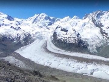 Monte Cervino, en los Alpes, en la frontera italiana con Suiza