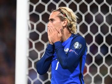 Griezmann lamenta una ocasión fallada con Francia