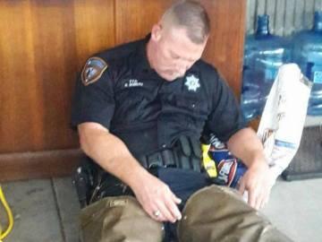Robert Goerliz, ayudante del sheriff en el Condado de Harris
