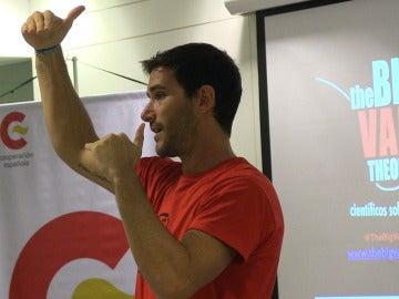 El físico y youtuber español Javier Santaolalla