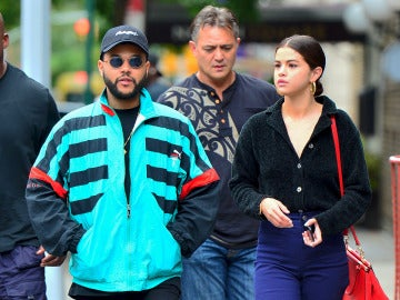 Selena Gomez y The Weeknd paseando por Nueva York