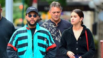 Selena Gomez y The Weeknd paseando por Nueva York