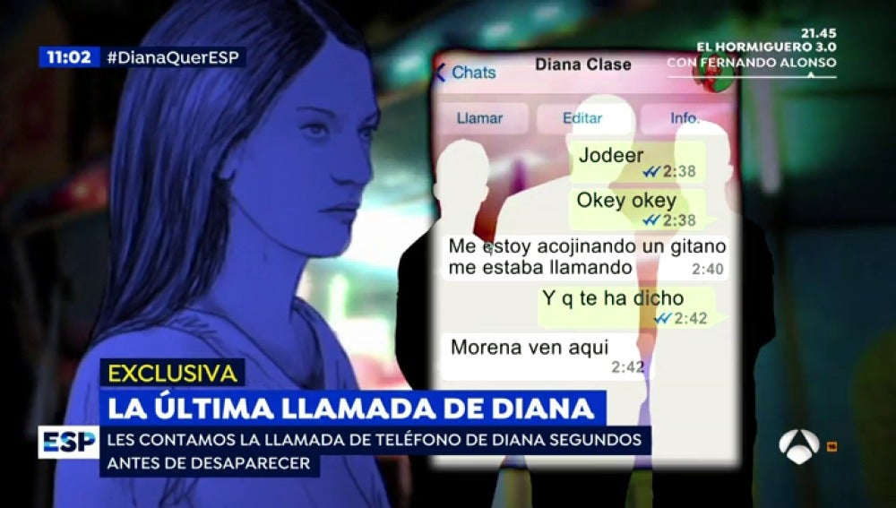 Antena 3 tv la ltima llamada de diana quer for Espejo publico diana quer