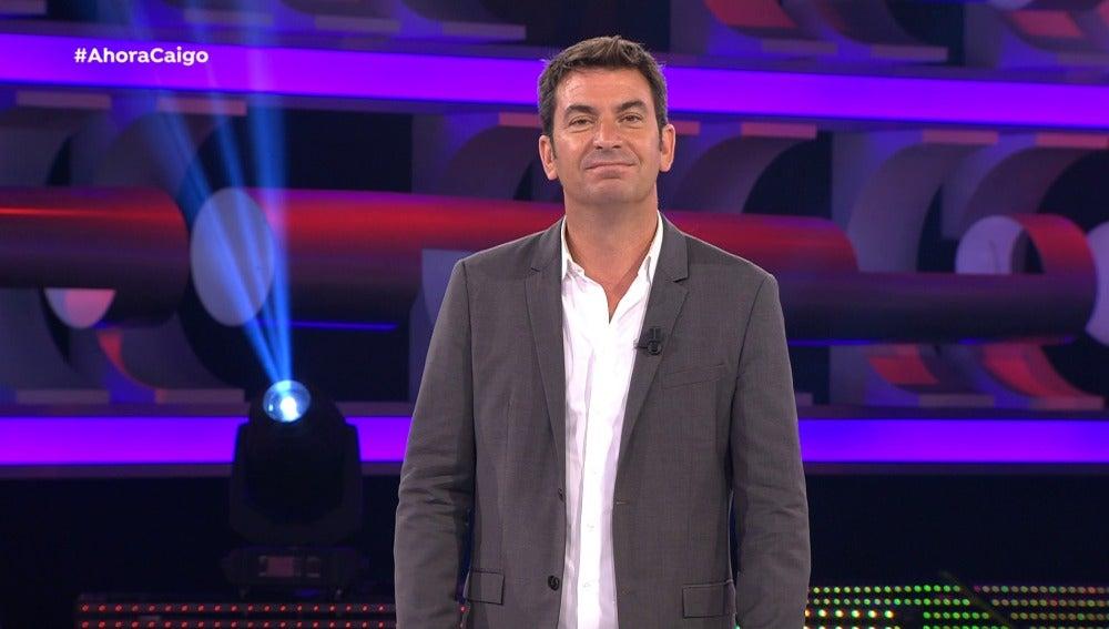 Arturo Valls contando un chiste