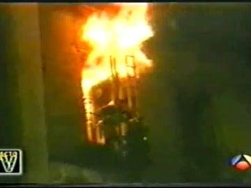 Tres décadas del dramático incendio de los almacenes Arias de Madrid