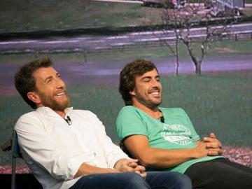 Los secretos detrás de la foto de Alonso en Brasil