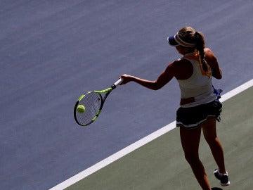 Partido de tenis femenino en el US Open