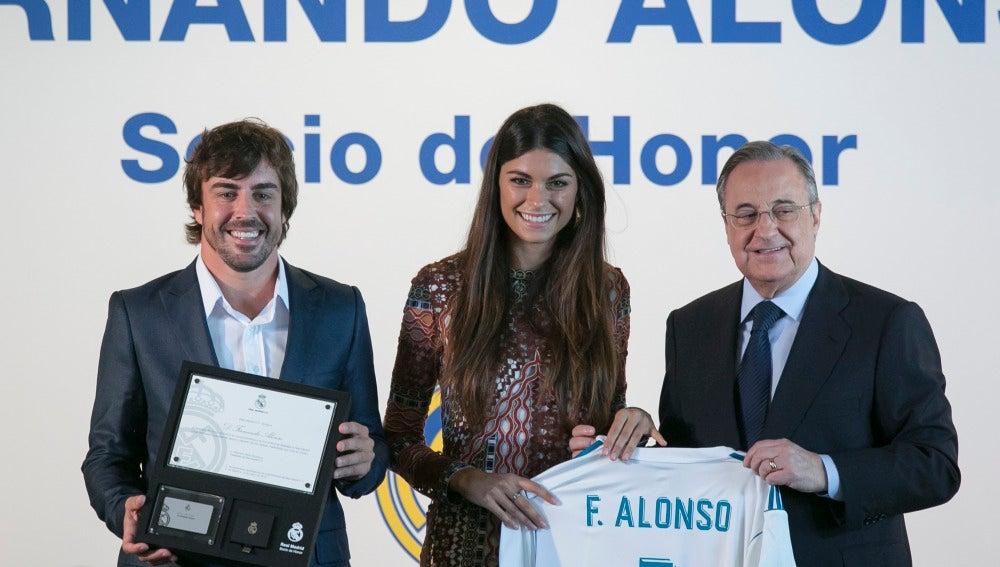Fernando Alonso y Linda Morselli
