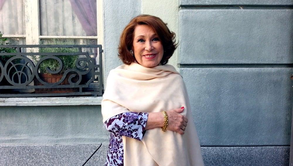 """María José Goyanes: """"He sido muy feliz con mi personaje"""""""