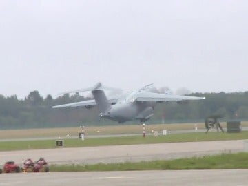 Regresamos en A-420 con el destacamento español desplegado en Estonia