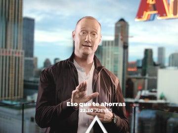 Pedro García Aguado te enseña cómo ahorrar el jueves a las 22:30 horas en 'Eso que te ahorras'