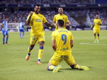 Las Palmas vence al Málaga