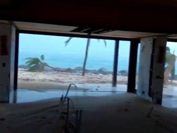 El huracán Irma destroza la mansión del multimillonario propietario de la marca Virgin