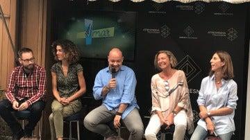 Eduardo Casanova presenta la sexta temporada de 'Amar es para siempre'