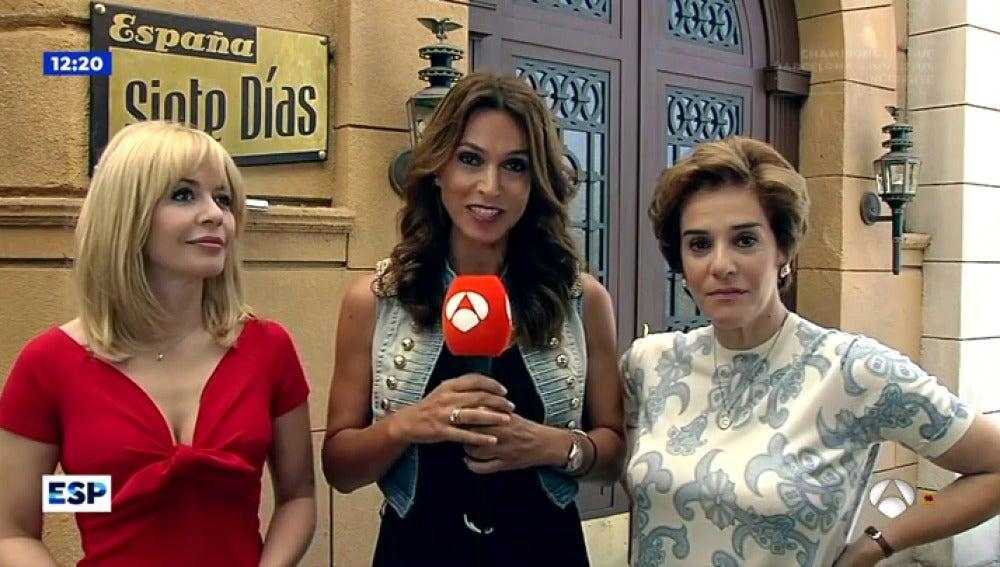 Antena 3 tv mar a ad nez y anabel alonso avanzan el - Antena 3 tv series amar es para siempre ...