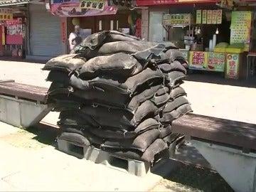 Alerta en China ante la inminente llegada del tifón Talim