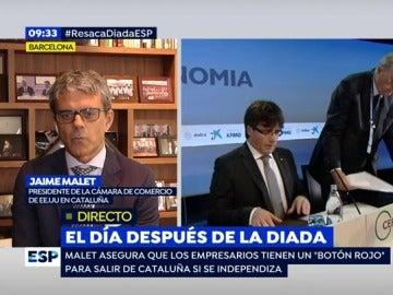Jame Malet, presidente de la Cámara de Comercio de EEUU en Cataluña