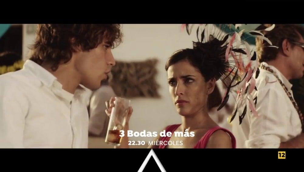 Inma Cuesta y Paco León protagonizan la comedia '3 bodas de más'