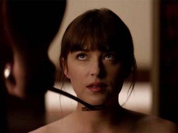 Anastasia en 'Cincuenta sombras liberadas'