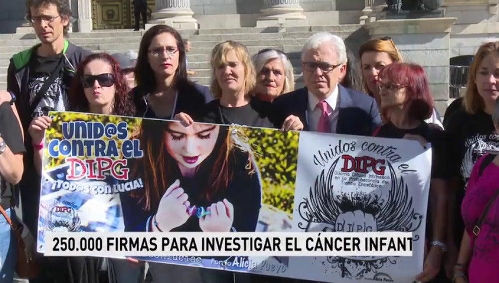250.000 firmas exigen al Congreso que invierta contra el cáncer infantil