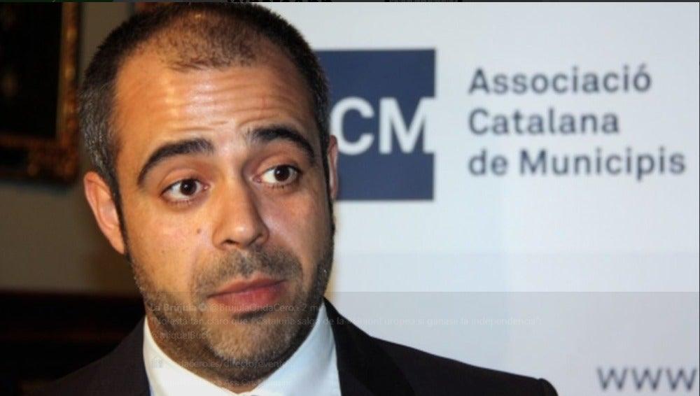 Miquel Buch, presidente de la Asociación Catalana de Municipios