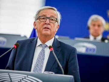 El presidente de la Comisión Europea, Jean-Claude Juncker