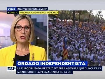 Beatriz Becerra, en EP