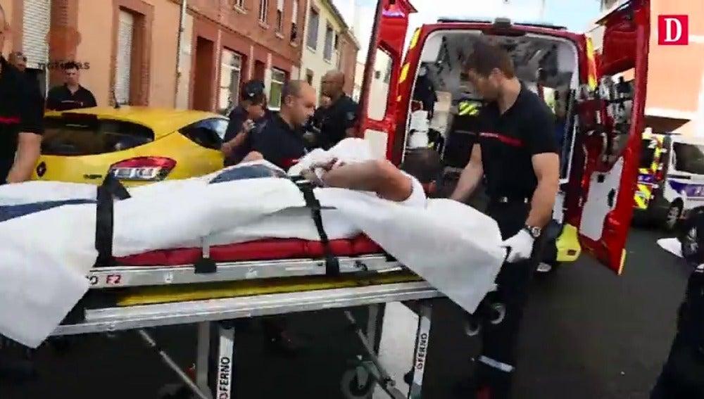 """Un hombre agrede a dos viandantes y a tres policías en Toulouse al grito de """"Alá es grande"""""""