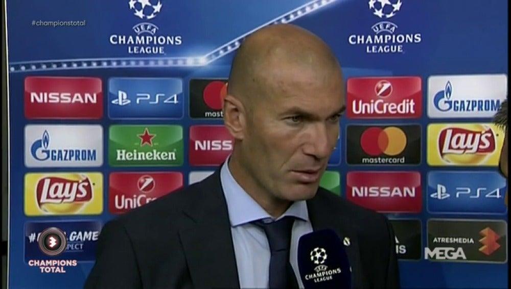 """Zidane defiende a Bale: """"No hay que cuestionarle, ha hecho un buen partido"""""""