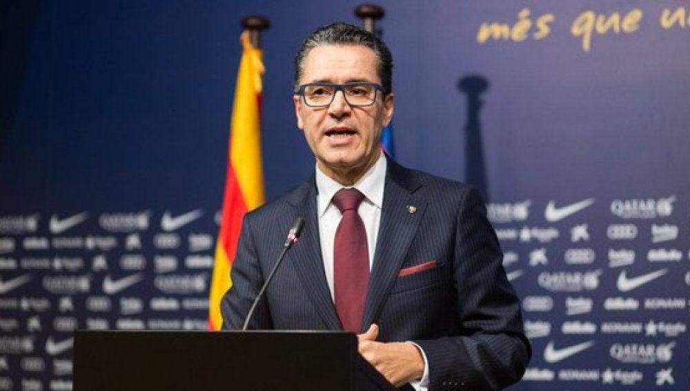 Josep Vives, portavoz del Barça