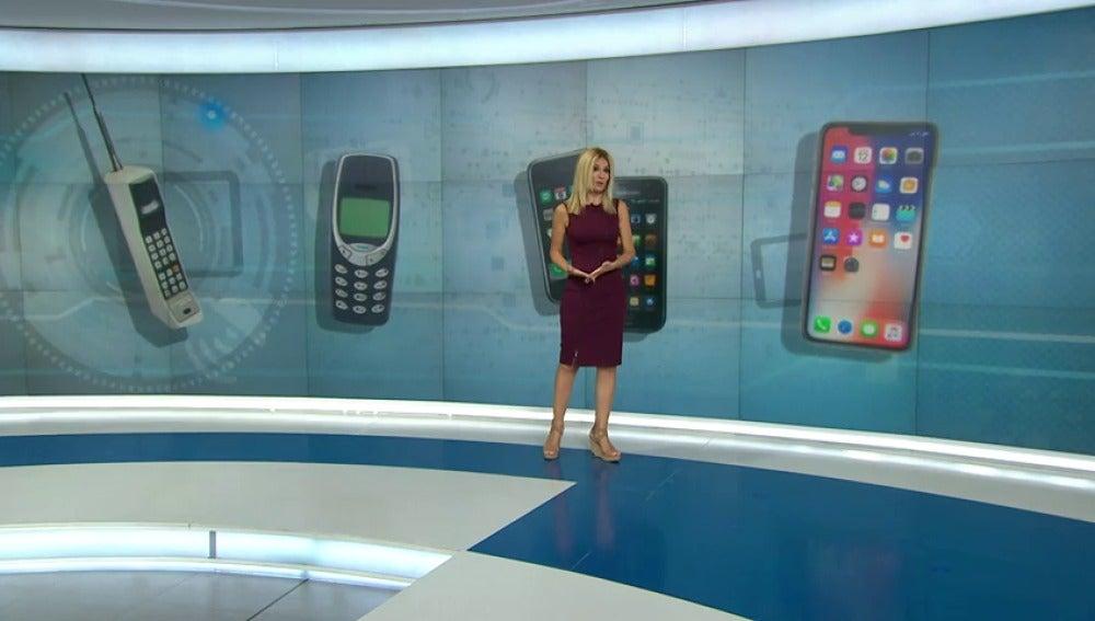 Revisamos la evolución de los teléfonos móviles, desde los que pesaban casi un kilo y sólo servían para llamar