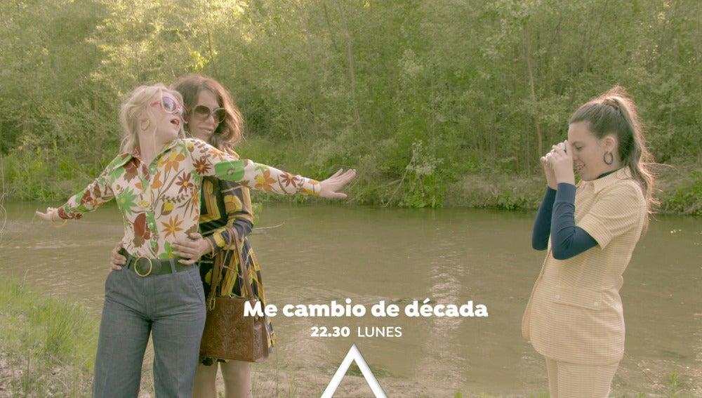 La familia Vela Cedena se teletransporta a los años 70 el lunes en 'Me cambio de década'