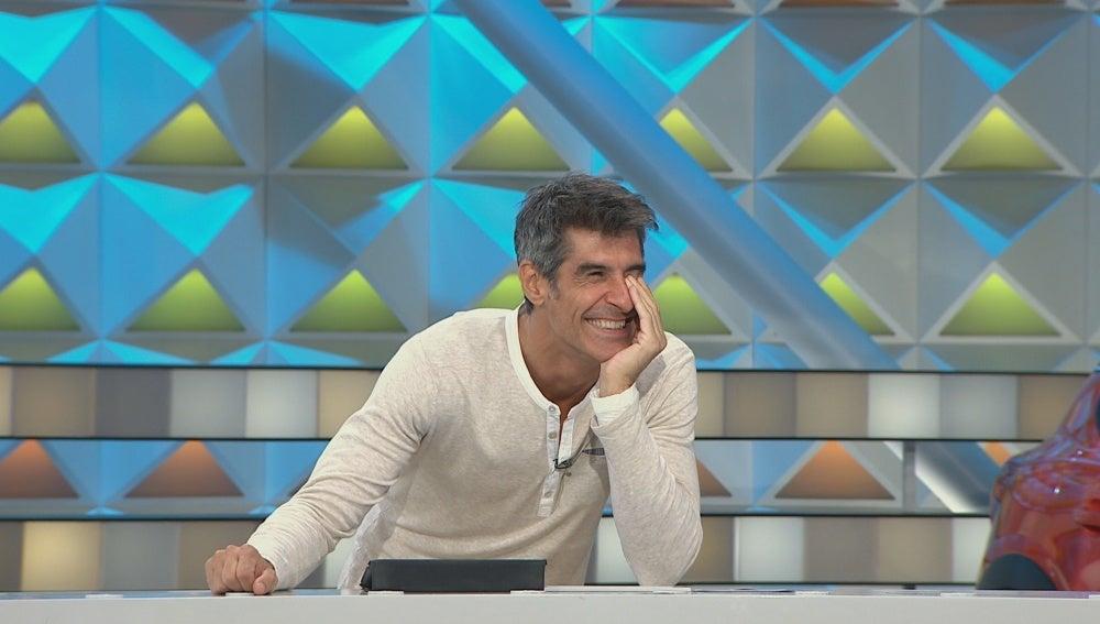 Los peculiares sonidos de un concursante desatan las risas en 'La ruleta de la suerte'