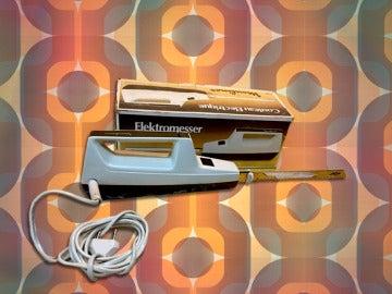 Los primeros cuchillos eléctricos de los años 70