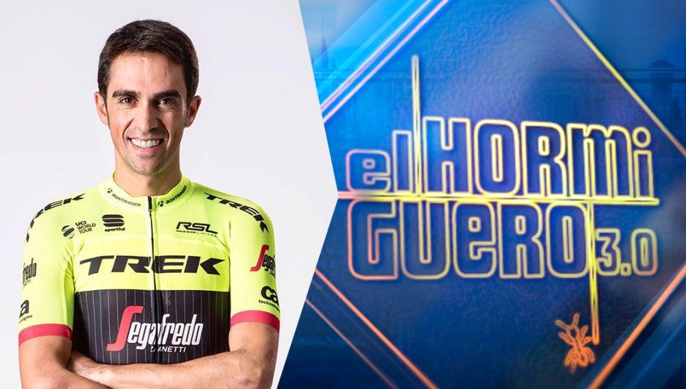 Alberto Contador celebrará sus éxitos en 'El Hormiguero 3.0' el jueves
